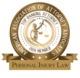 AAAA Top Ranking Personal Injury Law Badge
